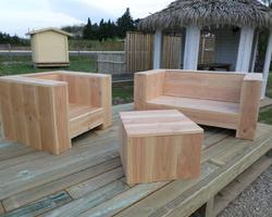 Solubois Concept  - Agde - table - chaise - bois